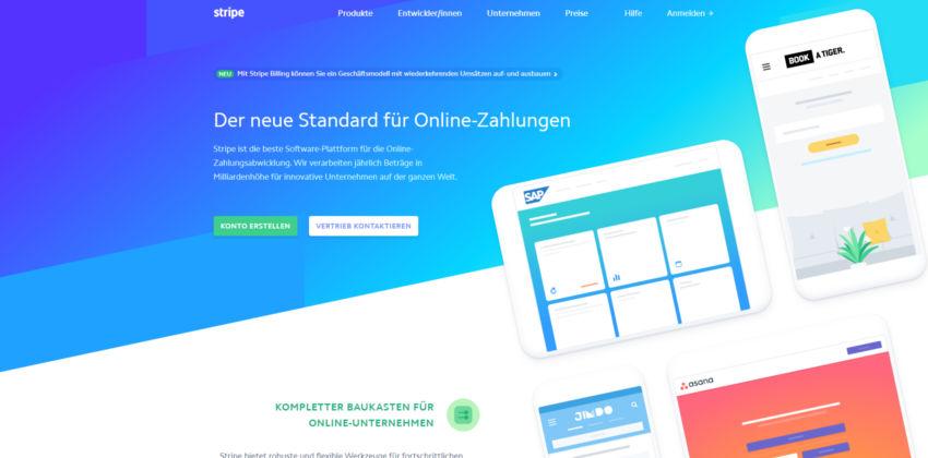 Webdesign-Trends: Farbverläufe