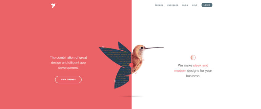 Webdesign-Trends: Split-Screen-Design