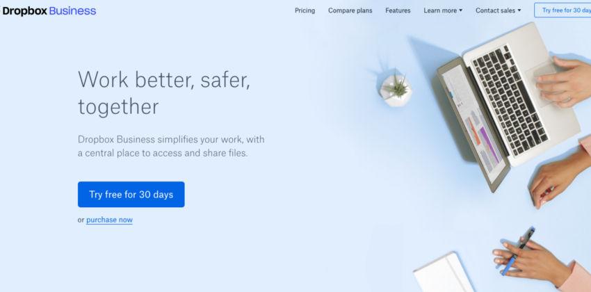 Webdesign-Trends: Eine Website im Material Design